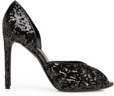 Shoes D'orsey Sequined Heeled Shoe