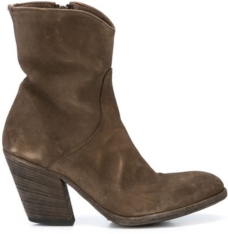 Officine Creative Cowgirl Ankle Boots