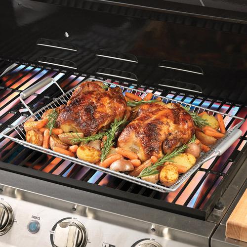 Chefs Nonstick Mesh Roasting Pan