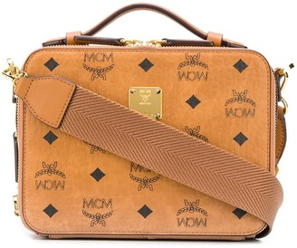 MCM Monogram Print Shoulder Bag
