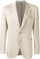Loro Piana soft denim blazer - men - Linen/Flax/polyester - 50