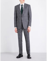 Tom Ford Checked Slim-fit Wool Suit