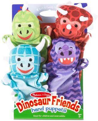 Melissa & Doug Dinosaur Friends Hand Puppets Set