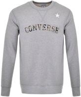 Converse Essentials Logo Sweatshirt Grey