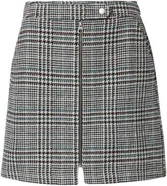 Vero Moda Rebeljana Houndstooth Mini Skirt