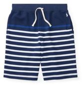 Ralph Lauren Cotton Atlantic Terry Short Fresco Blue Multi L