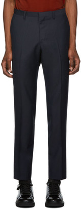 Tiger of Sweden Navy Wool Todd Trousers