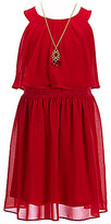 I.N. Girl Big Girls 7-16 Popover Dress