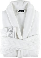 Versace MEDUSA CRYSTAL COTTON BATHROBE