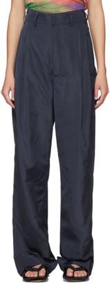 Serapis SSENSE Exclusive Blue Worker Pants