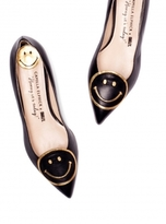 Camilla Elphick Raise a Smile Black with Gold Flats