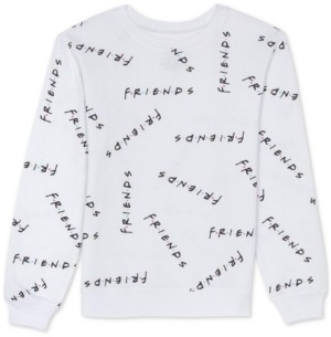 Warner Brothers Juniors Friends Print Sweatshirt