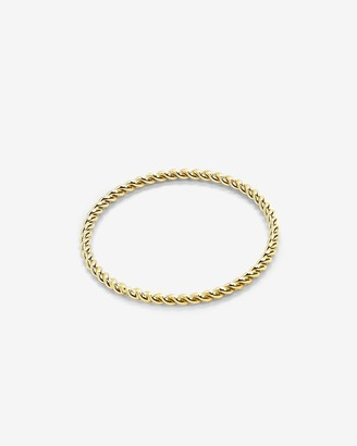 Express Lola Ade Gold Special Twist Ring