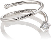 Maison Margiela Women's Wrapped Ring-WHITE