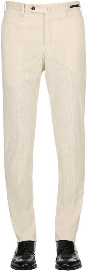 Pt01 18cm Slim Fit Stretch Corduroy Pants