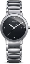 Rado Centrix Jubile Stainless Steel Watch with Diamonds, 28mm