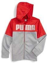 Puma Boy's Logo Graphic Hoodie