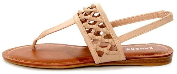Bamboo Knotted Thong Sandals