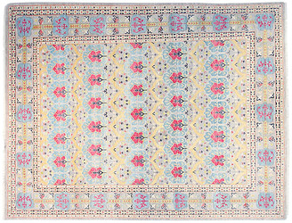 F.J. Kashanian 9'x12' Chrysa Sari Rug - Light Blue