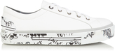 Lanvin Low-top leather trainers