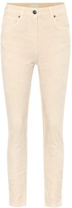 Etro Floral cotton-blend jacquard pants