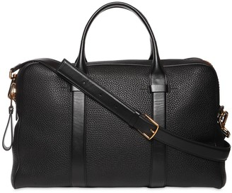 Tom Ford Buckley Leather Briefcase W/strap