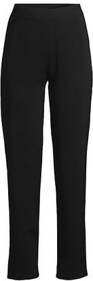 Misook Knit Straight-Leg Pants