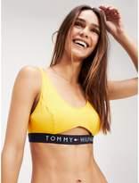 Tommy Hilfiger Logo Band Cut Out Bralette