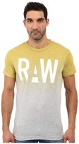 G Star G-Star Wendor Short Sleeve Tee in Dipped NY Jersey