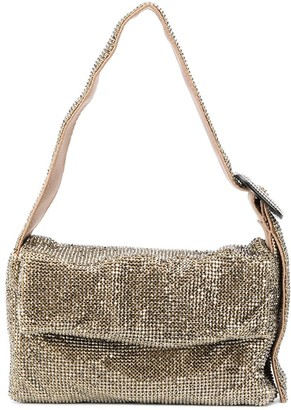 Benedetta Bruzziches Metallic-Effect Shoulder Bag