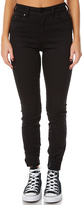 Lee Mid Licks Stay Back Womens Jean Black