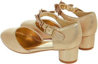 Monsoon Girls Savannah Butterfly Two Part Shoe - Gold