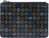 Paul Smith textured tear drop print zipped wallet