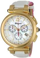Salvatore Ferragamo Women's FI3020014 IDILLIO Analog Display Swiss Quartz White Watch
