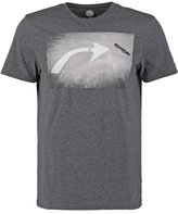 Element French Fred Print Tshirt Charcoal Heather