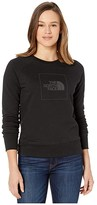 The North Face Holiday French Terry Crew (TNF Black/TNF Black) Women's Clothing