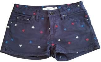 Etoile Isabel Marant Navy Denim - Jeans Shorts for Women