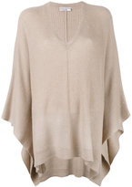 Brunello Cucinelli asymmetric jumper - women - Silk/Polyamide/Cashmere/Wool - S