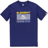 Element Men's Contour Graphic-Print Logo Cotton T-Shirt