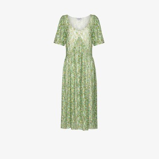 Collina Strada Princess Mariposa floral-lace dress