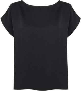 Monica Nera Kelly Black Viscose Shirt