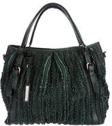 Burberry Ruffled Lowry Bag
