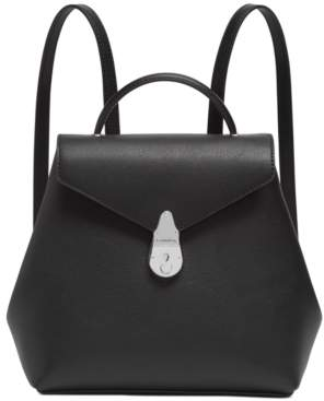 Calvin Klein Lock Leather Backpack