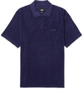 Stüssy - Cotton-terry Polo Shirt