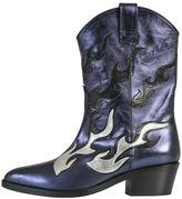 Chiara Ferragni Texano Leather Boots