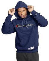Champion Men's Retro Graphic Pullover Hoodie Sweatshirt