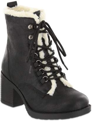 Mia Lace-Up Ankle Booties - Lars