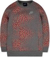 Nike Geo-Print Sweatshirt, Toddler & Little Girls (2T-6X)