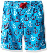 Hatley Big Boys Nautical Anchors Board Shorts