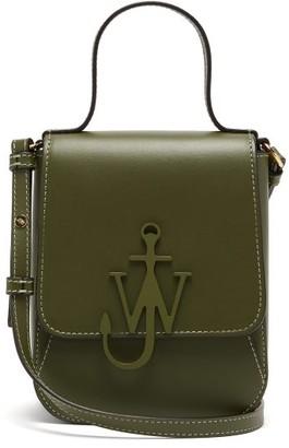 J.W.Anderson Top Handle Anchor-logo Cross-body Bag - Khaki